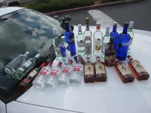 CVS Alcohol Theft