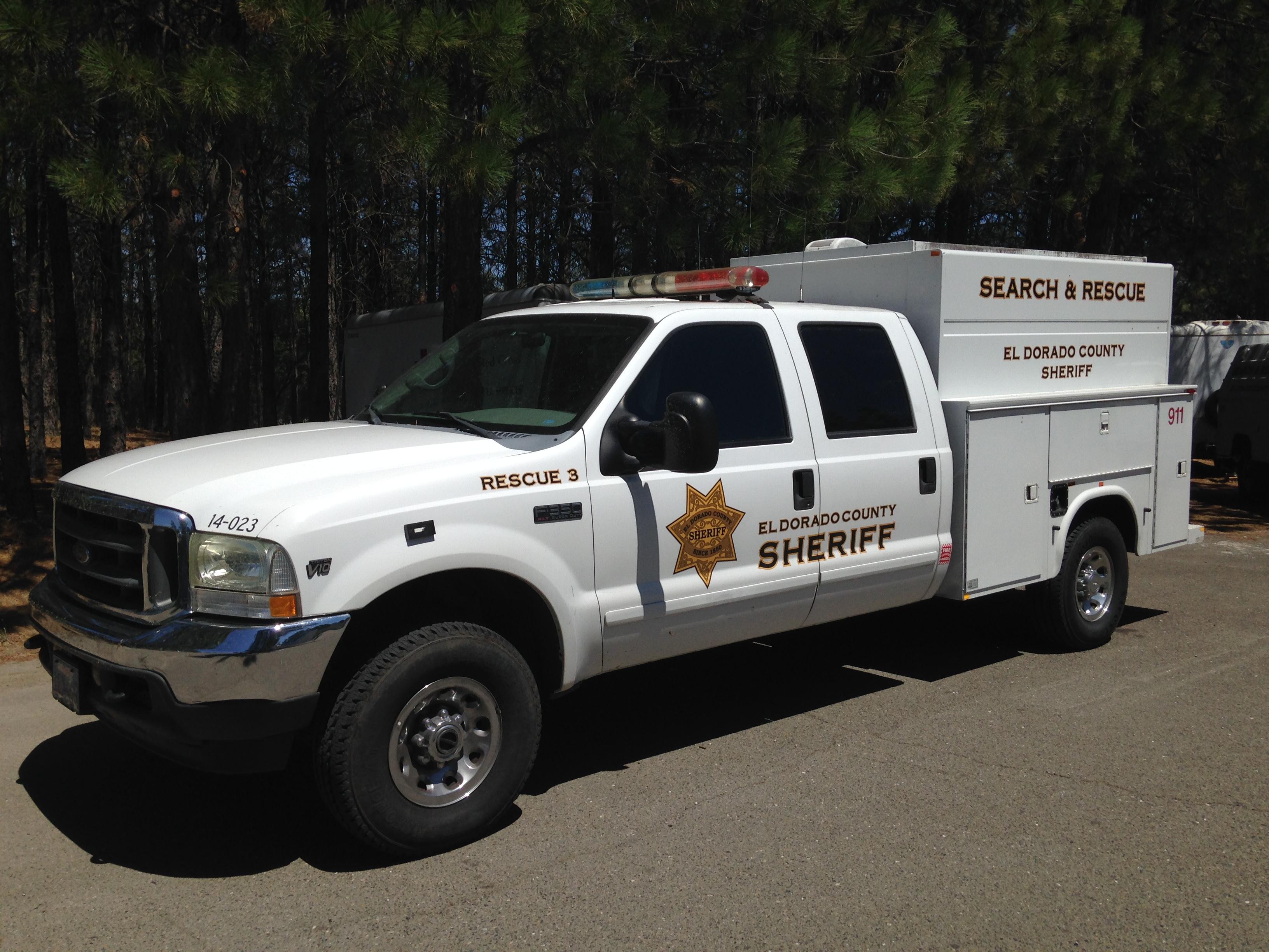 El dorado county sar helps shasta county el dorado for Department of motor vehicles in sacramento